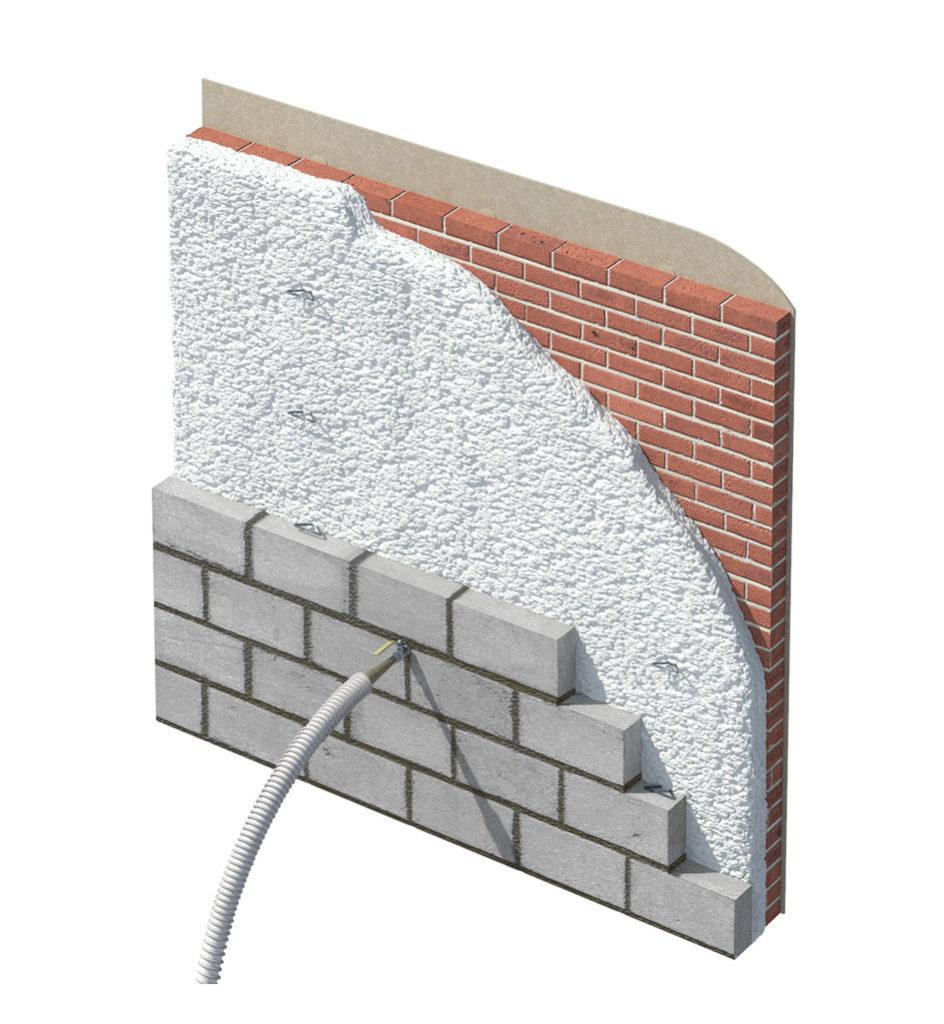 Masony Walls – Blown Cavity Wall Insulation