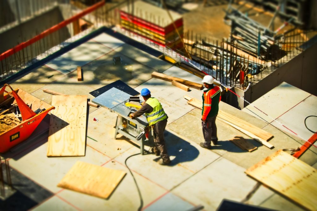 Superglass Blog | Builders at Construction Site